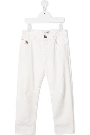 Brunello Cucinelli Kids Jeans mit geradem Bein