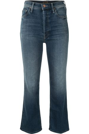 Mother The Tripped' Cropped-Jeans