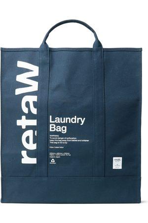 Reta Herren Shopper - Logo-Print Cotton-Canvas Laundry Bag