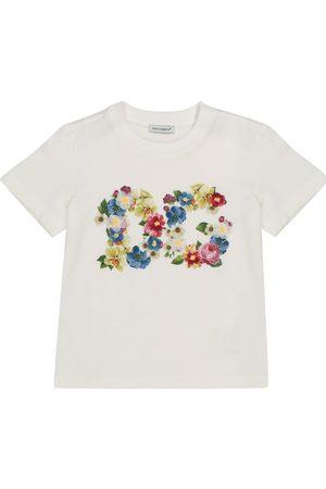 Dolce & Gabbana Verziertes T-Shirt aus Baumwolle