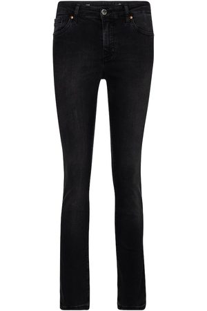 AG Jeans High-Rise Straight Jeans Mari