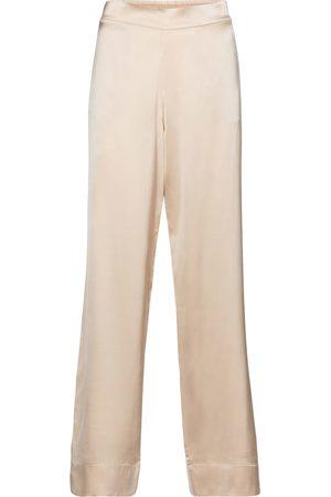 ASCENO Pyjama-Hose London aus Seidensatin
