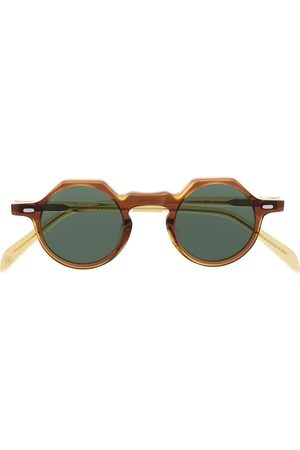 LESCA Runde 'Yoga' Sonnenbrille