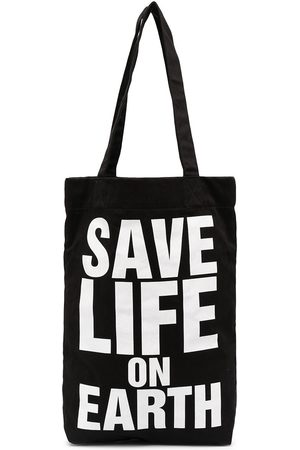 KATHARINE HAMNETT LONDON Save Life On Earth tote bag