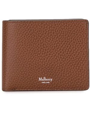 MULBERRY Pebbled-effect bifold wallet