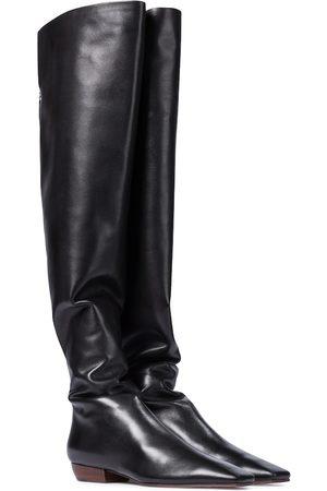 The Row Damen Overknee Stiefel - Overknee-Stiefel Slouch aus Leder