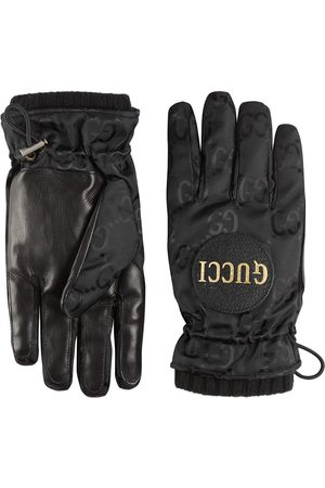 Gucci Off the Grid Handschuhe mit GG