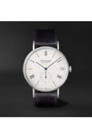 Nomos Glashütte Herren Uhren - Ludwig Neomatik 41 Limited Edition Automatic 40.5mm Stainless Steel and Leather Watch, Ref. No. 291