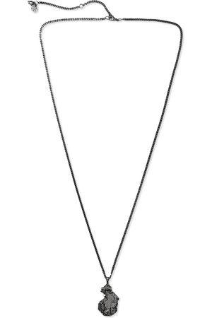 Alexander McQueen Gunmetal-Tone Necklace