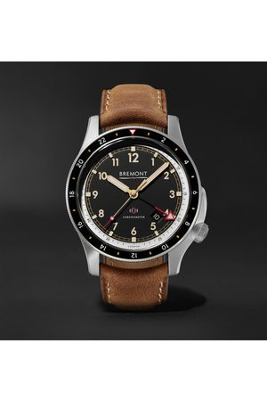 Bremont Herren Uhren - IonBird 43mm Automatic Chronometer Titanium and Nubuck Watch