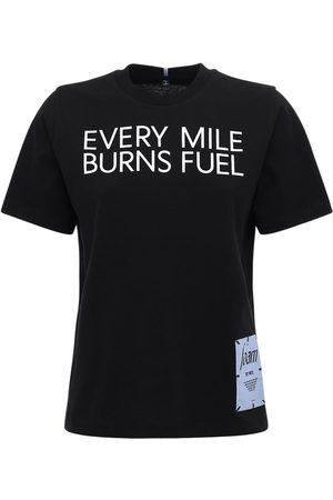 McQ Bedrucktes T-shirt Aus Baumwolljersey