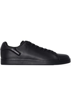 RAF SIMONS Black Orion low top leather sneakers