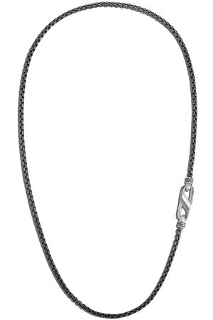 John Hardy Box Chain Blackened necklace