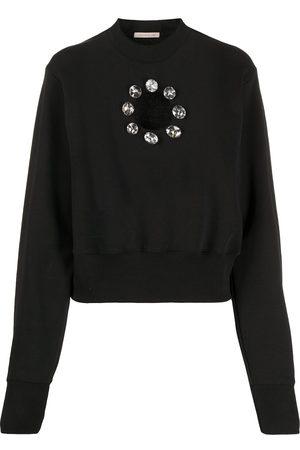 Christopher Kane Damen Sweatshirts - Sweatshirt mit Kristallen