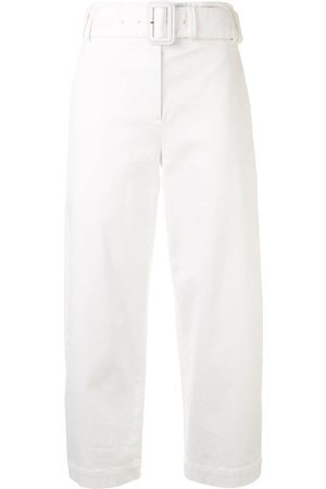 Proenza Schouler White Label Cropped-Hose mit Gürtel