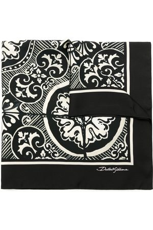 Dolce & Gabbana Herren Schals - Seidenschal mit Print