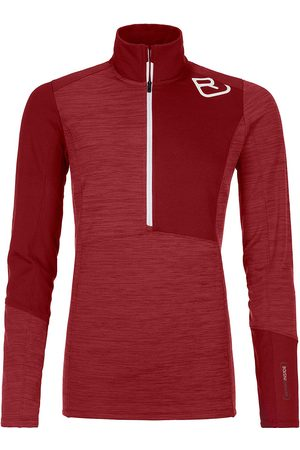ORTOVOX Damen Shirts - Light Zip Neck Baselayer Top