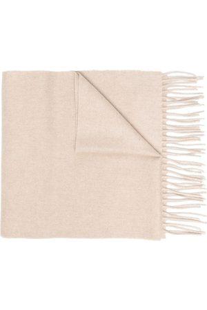 Dell'oglio Fringe edge scarf - Nude