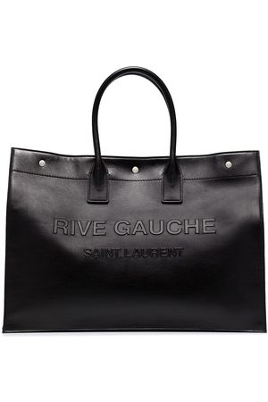 Saint Laurent Large Rive Gauche leather tote bag