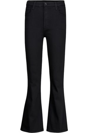J Brand High-Rise Bootcut Jeans Franky