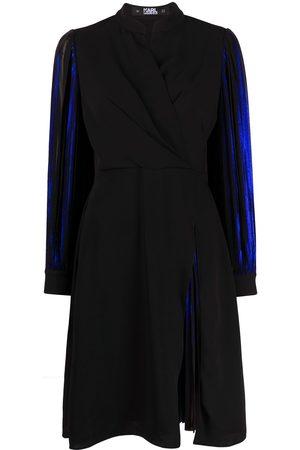 Karl Lagerfeld Kleid im Metallic-Look