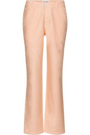 Loewe X Ken Price Mid-Rise Boyfriend Jeans
