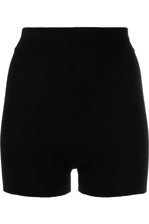 Cashmere In Love Alexa knitted cashmere biker shorts