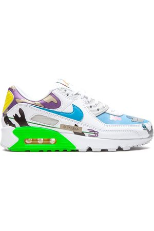 Nike Flyleather Air Max 90 QS Ruohan Wang' Sneakers