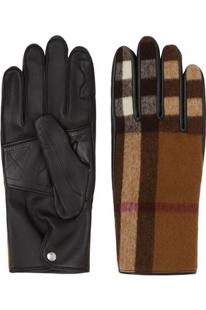 Burberry Check-pattern gloves