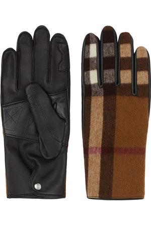 Burberry Handschuhe mit Karomuster