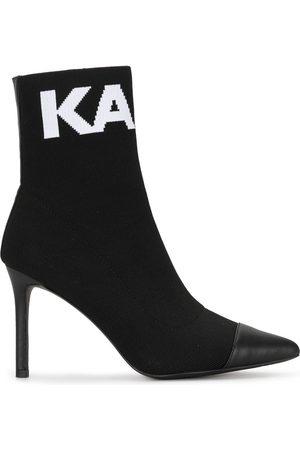 Karl Lagerfeld Sock-Boots mit Intarsienmuster