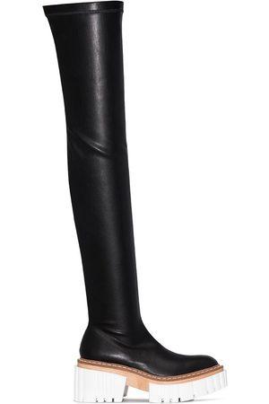 Stella McCartney Emilie 75mm thigh-high boots