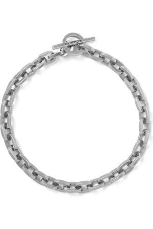 M. COHEN Burnished Sterling Chain Bracelet