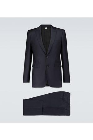 Burberry Einreihiger Anzug aus Wolle