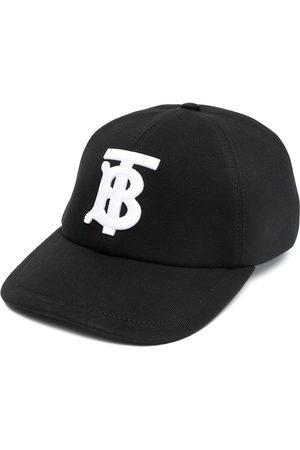 Burberry Monogram-embroidered cap