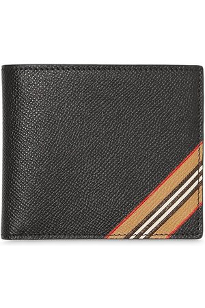 Burberry Portemonnaie mit Streifen - BLACK