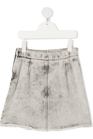 Le pandorine Stonewashed denim skirt