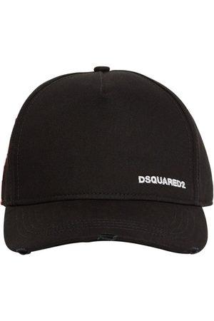 Dsquared2 Kappe Aus Baumwollgabardine Mit Etikett