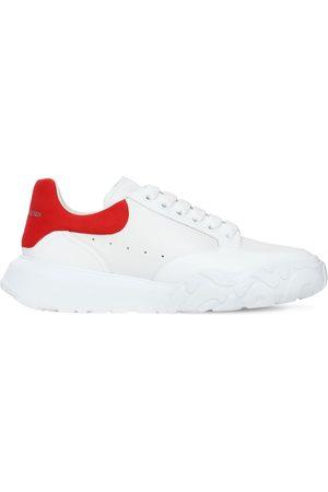 """Alexander McQueen 40mm Hohe Ledersneakers """"oversized Court"""""""