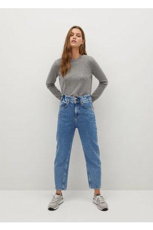 MANGO Baggy jeans mit stretchbund