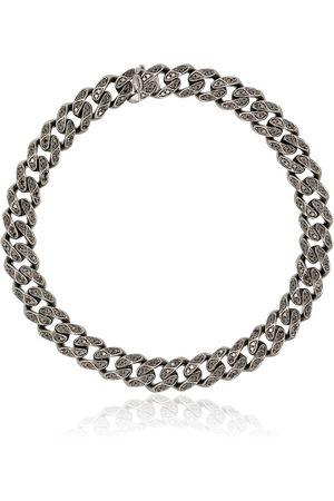 Shay 18kt Schwarzgold-Kettenarmband mit Diamanten