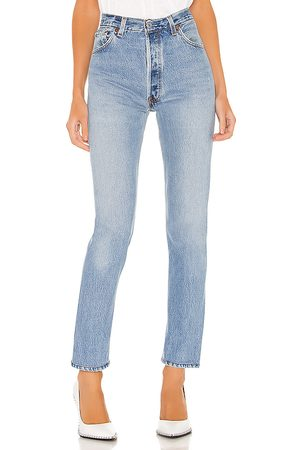 RE/DONE Levis High Rise in . Size 30.