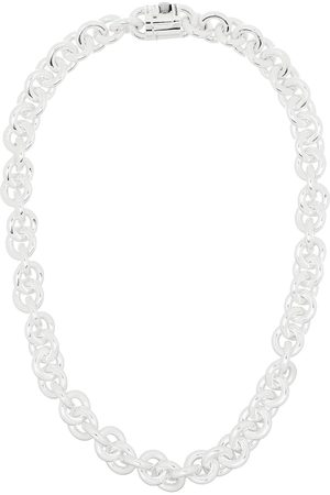 Le Gramme Chain-link sterling silver necklace