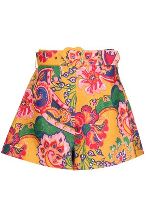 ZIMMERMANN The Lovestruck paisley-print shorts