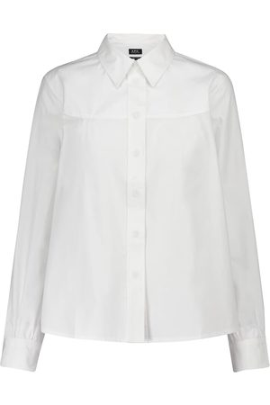 A.P.C. Hemd Pascale aus Baumwollpopeline
