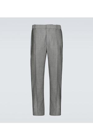 Alexander McQueen Straight-Leg-Hose aus Wolle und Mohair