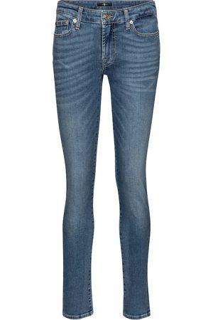7 for all Mankind Damen Slim - Mid-Rise Slim Jeans Pyper