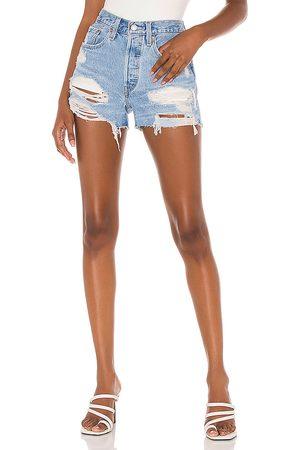 Levi's Damen Shorts - 501 Original Short in . Size 24, 25, 26, 27, 28, 29, 30, 31, 32.