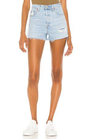 Levi's Damen Shorts - Ribcage Short in . Size 24, 25, 26, 27, 28, 29, 30, 31, 32.
