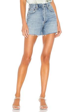 AGOLDE Damen Shorts - Dee Super High Rise Short. Size 26, 27, 28, 29, 30.